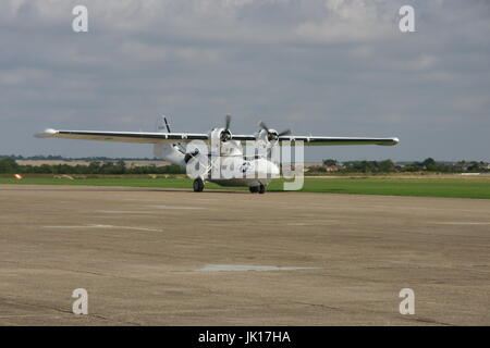 Consolidated PBY Catalina, flying boat - Stock Photo
