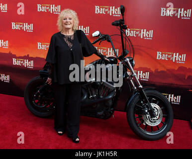 Arrivals for opening night of 'Bat Out Of Hell' The Musical at the London Coliseum  Featuring: Petula Clark Where: - Stock Photo