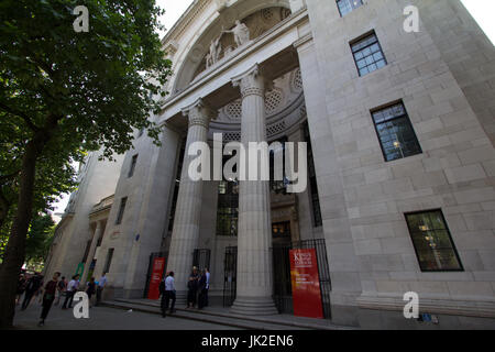 Kings College London Strand Campus Bush House - Stock Photo