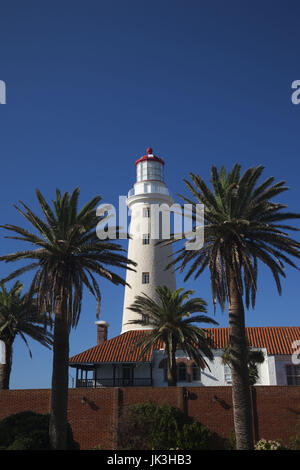 Uruguay, Punta del Este, Lighthouse, morning - Stock Photo