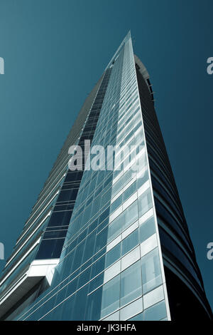 Uruguay, Montevideo, Torre Antel tower - Stock Photo