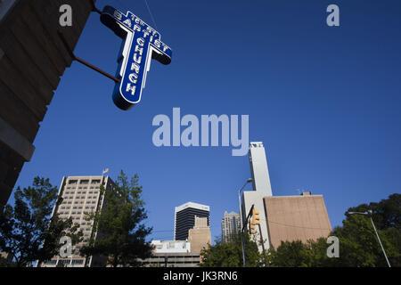 USA, Alabama, Birmingham, 16th Street Baptist Church, famous landmark in the Civil Rights struggle of African-Americans, - Stock Photo