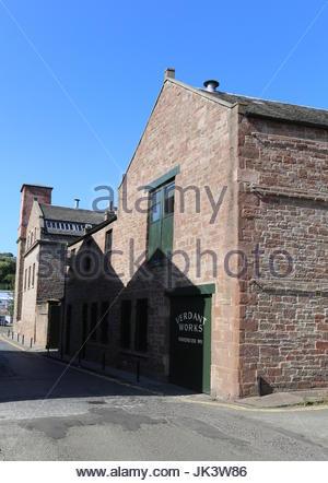 Verdant Works Jute Mill Museum Dundee Scotland  July 2017 - Stock Photo