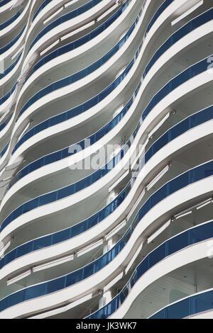 Uruguay, Punta del Este, Millenium Tower, condo tower - Stock Photo