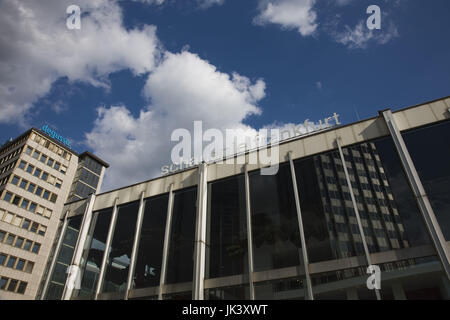 Germany, Hessen, Frankfurt am Main, Volkstheater, theater building, - Stock Photo