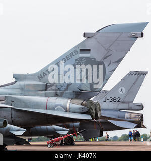 Tornado PA200 IDS/ECR from the German Air Force seen at the 2017 Royal International Air Tattoo at RAF Fairford - Stock Photo