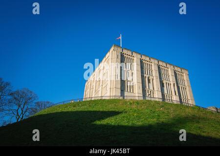 Norwich Castle - Stock Photo