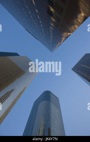 USA, California, Los Angeles, Downtown, highrise buildings - Stock Photo