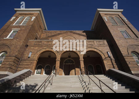 USA, Alabama, Birmingham, 16th Street Baptist Church, famous for its part in the Civil Rights struggle of African - Stock Photo