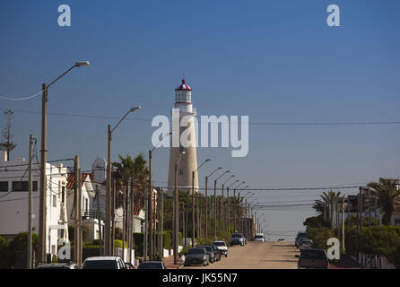 Uruguay, Punta del Este, lighthouse - Stock Photo