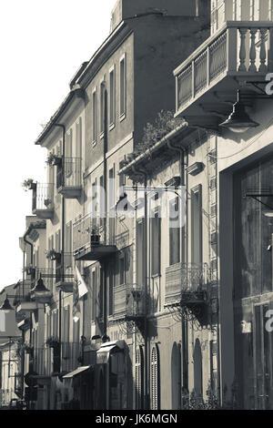 Italy, Sardinia, Northern Sardinia, Olbia, Corso Umberto, morning - Stock Photo