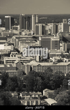 USA, Alabama, Birmingham, high angle view from Vulcan Park, daytime - Stock Photo