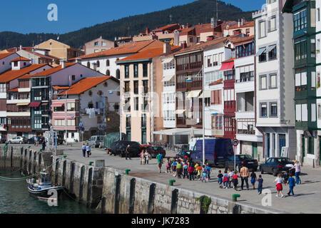 Spain, Basque Country Region, Vizcaya Province, Lekeitio, the harbor