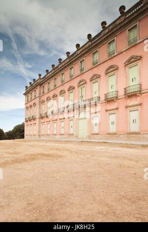Spain, Castilla y Leon Region, Segovia Province, Sierra de Guadarrama Area, San Ildefonso, Palacio Real de Riofrio, - Stock Photo