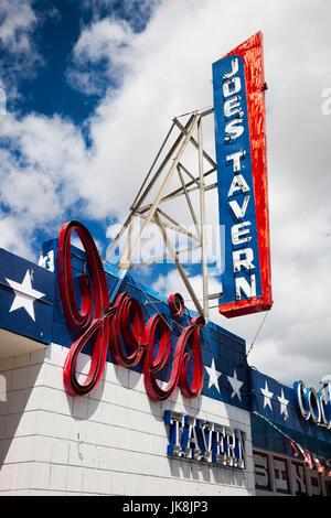 USA, Nevada, Great Basin, Hawthorne, Joes Tavern Casino - Stock Photo