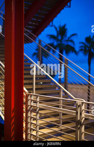 USA, California, Southern California, Los Angeles, Los Angeles County Museum of Art, LACMA, Broad Contemporary Art - Stock Photo