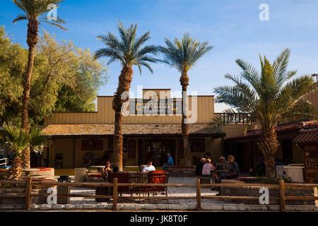 USA, California, Death Valley National Park, Furnace Creek, Furnace Creek General Store - Stock Photo