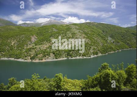 Mazedonien, Debar-See, Stausee, Landschaft, Natur, - Stock Photo