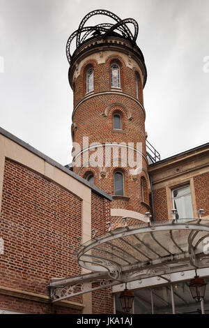 France, Picardy Region, Somme Department, Amiens, house of writer Jules Verne - Stock Photo