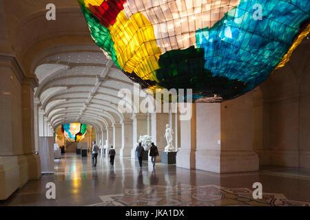 France, Nord-Pas de Calais Region, Nord Department, French Flanders Area, Lille, Palais des Beaux-Arts, art museum, - Stock Photo