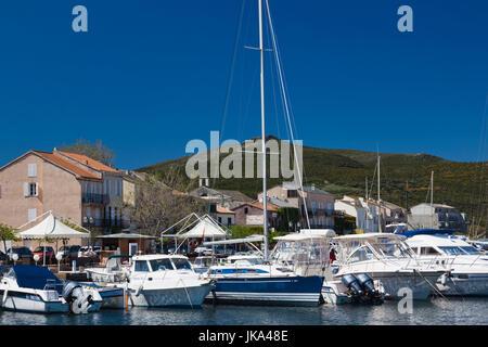 France, Corsica, Haute-Corse Department, Le Cap Corse, Macinaggio - Stock Photo