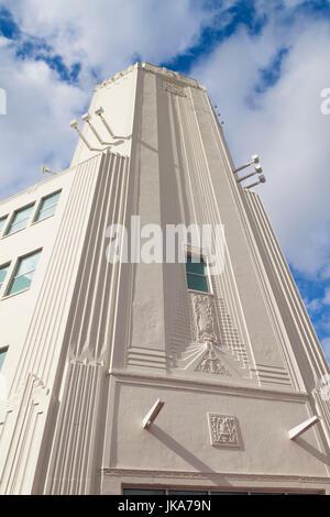 USA, Florida, Miami, Adrienne Arsht Center for the Performing Arts - Stock Photo