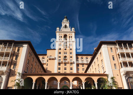 USA, Florida, Coral Gables, The Biltmore Hotel - Stock Photo