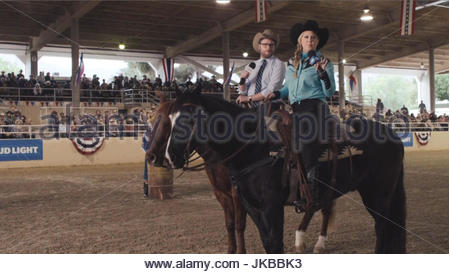 Paul rudd amy schumer and seth rogen appear on horseback in bud amy schumer and seth rogen appear on horseback in bud aloadofball Images