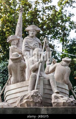 USA, Pennsylvania, Bucks County, Washington Crossing, Washington Crossing Historic Park dedicated to George Washington's - Stock Photo