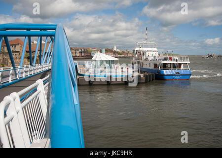 Tynemouth ferry,Spirit of the Tyne - Stock Photo