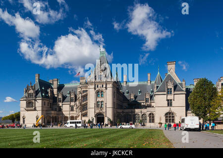 USA, North Carolina, Asheville, The Biltmore Estate, 250 room home formerly owned by George Vanderbilt - Stock Photo