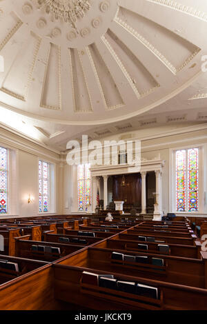 USA, South Carolina, Charleston, Kahal Kadosh Beth Elohim Synagogue, oldest continuously used synagogue in the USA, - Stock Photo
