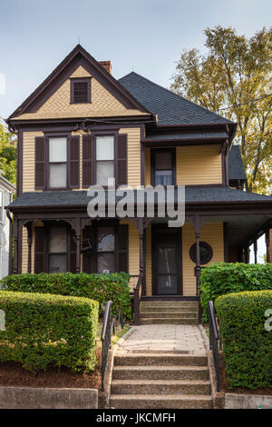 USA, Georgia, Atlanta, Martin Luther King National Historic Site, birthplace of Rev. Martin Luther King, King family - Stock Photo