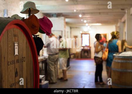 Australia, South Australia, Clare Valley, Sevenhill, Sevenhill Cellars, last remaining Jesuit-owned winery in Australia, - Stock Photo