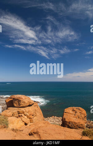 Australia, Western Australia, The Southwest, Prevelly, Surfers Point, daytime - Stock Photo