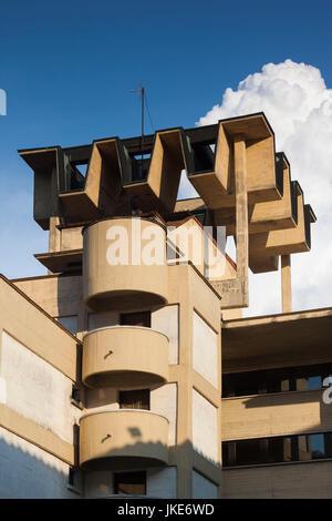 Bulgaria, Central Mountains, Veliko Tarnovo, Asenova, New Town, modern architecture Stock Photo