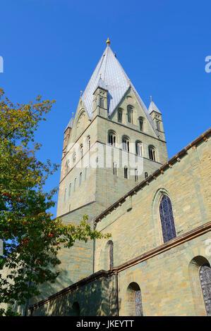 Cathedral St. Patrokli, Soest, North Rhine-Westphalia, Germany | St. Patrokli-Dom, Soest, Nordrhein-Westfalen, Deutschland - Stock Photo