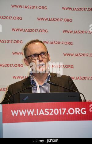 Paris, France, IAS, International AIDS Society Meeting, scientists sharing, medical training meeting - Stock Photo