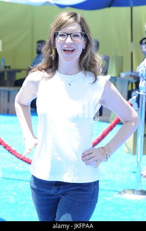 Lisa Loeb at arrivals for THE EMOJI MOVIE Premiere, Regency Village Theatre, Los Angeles, CA July 23, 2017. Photo - Stock Photo