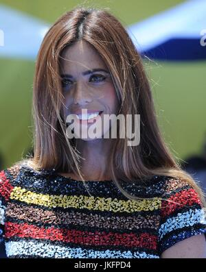 Lydia McLaughlin at arrivals for THE EMOJI MOVIE Premiere, Regency Village Theatre, Los Angeles, CA July 23, 2017. - Stock Photo