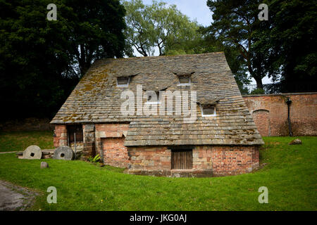 Nether Alderley Mill Is A 16th Century Watermill Located