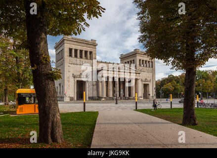 Germany, Bavaria, Munich, Propylaen gate - Stock Photo