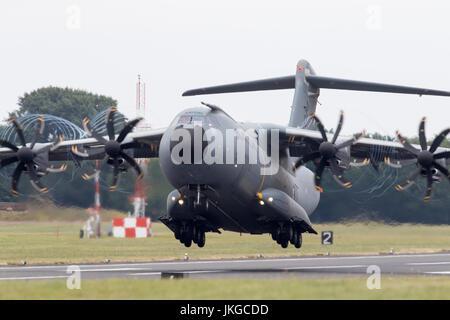 Airbus A400M Atlas EC-404 at RIAT 2017 - Stock Photo