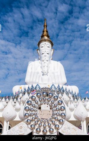 Big Buddha statue at Wat Khao Phra Bat in Pattaya ...