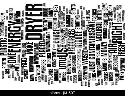 ENERGY AWARE AND WASTE WISE Text Background Word Cloud Concept - Stock Photo