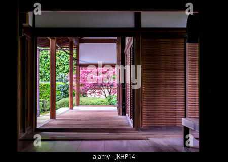 Kyoto Temple Interior - Stock Photo