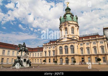 Schloss Charlottenburg in Berlin, Germany. - Stock Photo