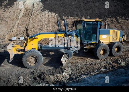 machine to level ground
