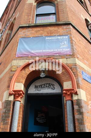 Afflecks Palace, Manchester - Front Entrance - Stock Photo