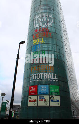 National Football Museum, Manchester - Stock Photo